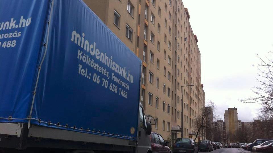 költöztetés budapest